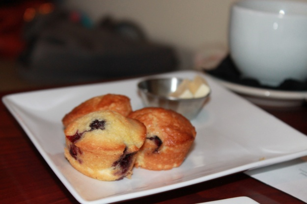 Muffins, 1618 Seafood Grille, Brunch