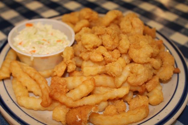 Child's Fried Popcorn Shrimp