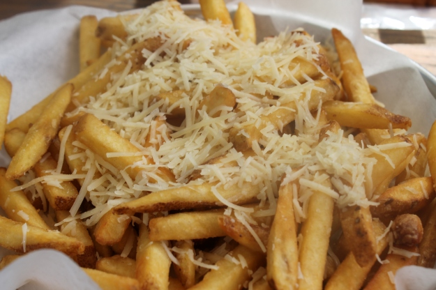 White Truffle Parmesan Fries
