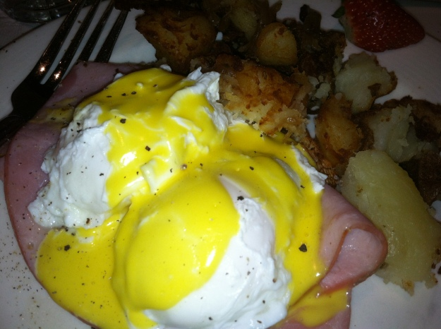 Another Benedict, this one with Black Forest Ham