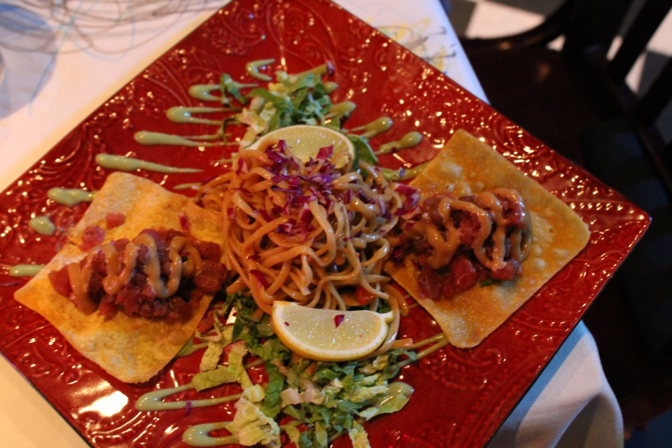 Diamondback Grill, Tuna tartar,