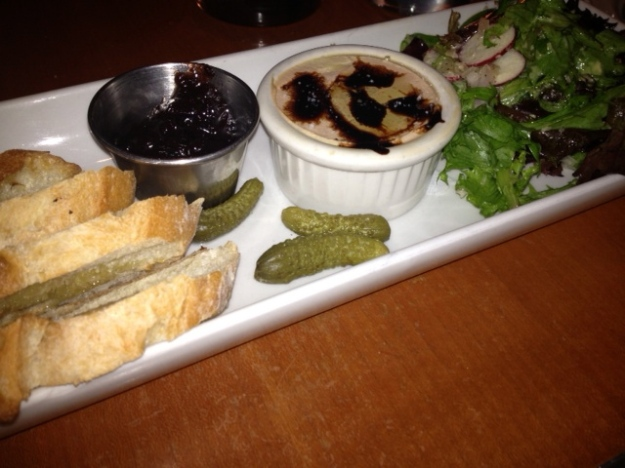 Chicken Liver Mousse, Majestic Cafe, Alexandria