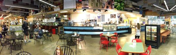 Panoramic of 7th Street Market