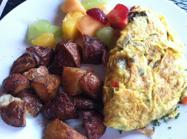 Omelet, Willow's Bistro, triadfoodies