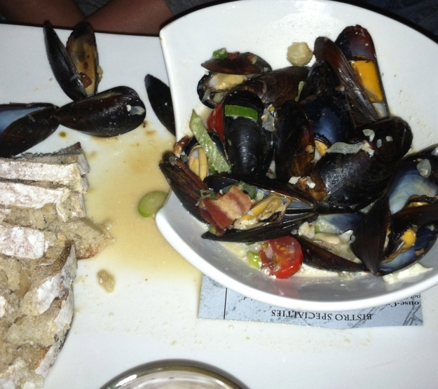 My order of Mussels