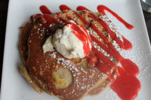 Strawberry Banana Pancake