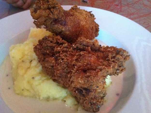 Fried Chicken & Mash