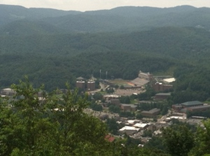 ASU view from Howard's Knob, Boone