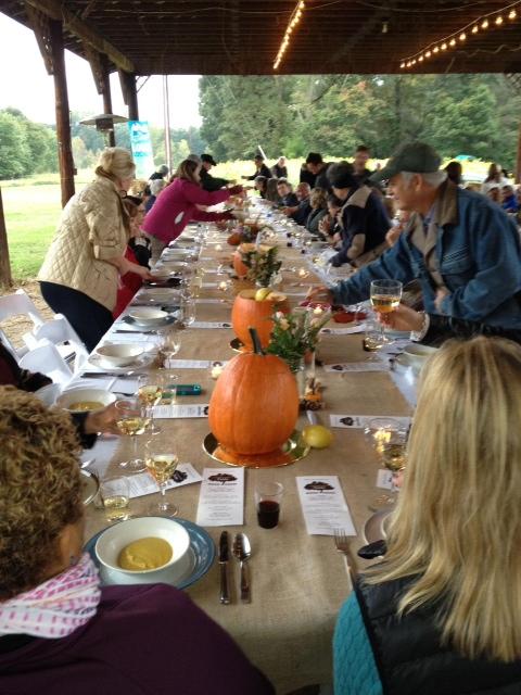 3rd Annual Community Table at Shooting Star Horse Farm, Triad Local First, Triadfoodies