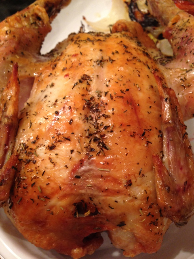 Roasted Poulet Rouge Fermier