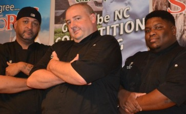 Chef James Patterson with Tim Alston & Isaac Spencer