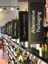 Streamlined Wine Section