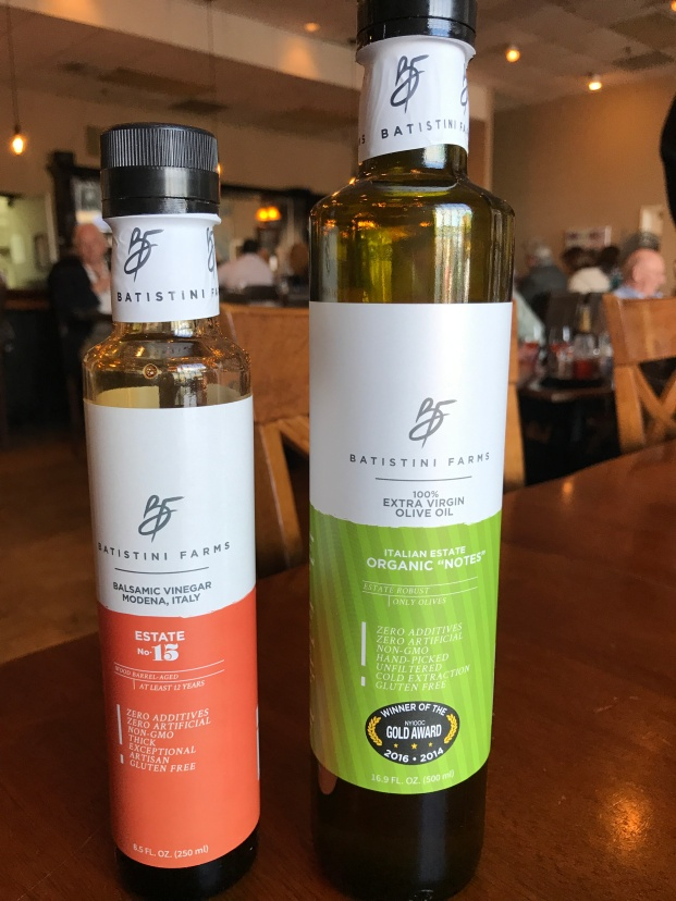 Featured Olive oil and Balsamic for Course 1